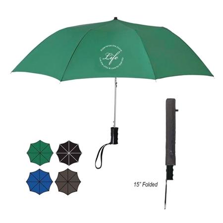 "Custom Folding 36"" Umbrellas"