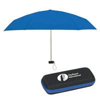 "Custom Printed 37"" Folding Arc Umbrella"