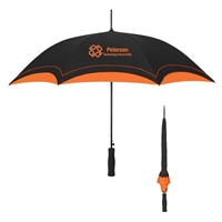 "Two Tone 46"" Custom Printed Umbrella"