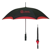 "46"" Black Based Custom Umbrella"
