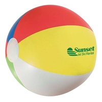 "Multi-Color 16"" Promotional Beach Balls"