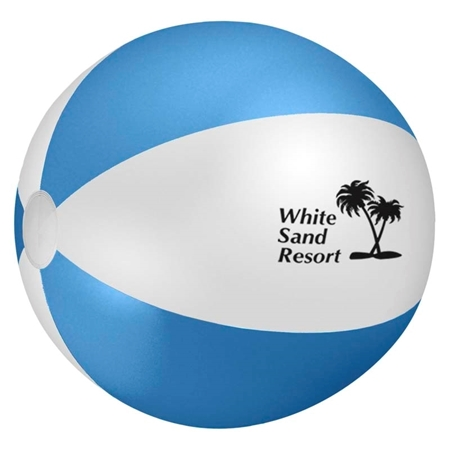 "Blue 24"" Customizable Beach Ball"