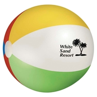 "24"" Multicolor Branded Beach Ball"