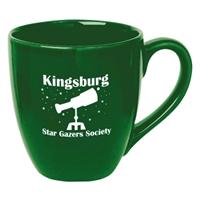 Custom Printed Green 14 oz. Mug