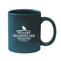 Picture of Custom Printed 11 oz.  Stoneware Mug With C-Handle