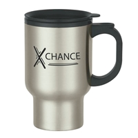 Promotional 16 oz. Stainless Steel Travel Mug
