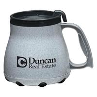 16 oz. Desk Mug With Logo