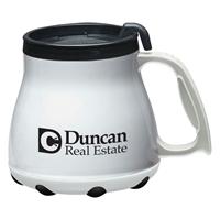 White 16 oz. Customizable Mugs