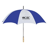 Umbrella with logos