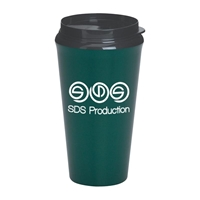 Picture of Custom Printed 16 oz. Infinity Tumbler With Plastic Sip Thru Lid