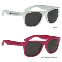 Imprinted Color Changing Sunglasses