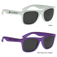 Color Changing Sunglasses With Logo