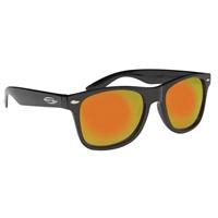 Mirrored Sunglasses With Logo