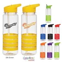 Custom 24 oz. Banded Gripper Bottle