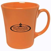 Custom Orange 14 oz. Bahama Mug