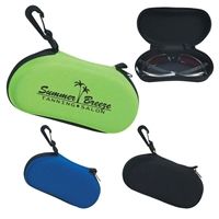 imprinted sunglass case with clip