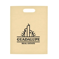 "Picture of Heat Sealed Non-Woven Exhibition Tote - 11"" W x 14"" H"