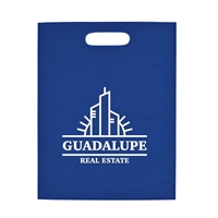 """Picture of Heat Sealed Non-Woven Exhibition Tote - 11"""" W x 14"""" H"""