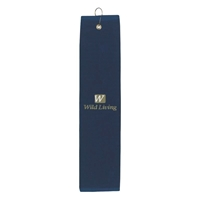 Personalized Folded Golf Towel