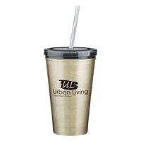 16 oz. Customized Stainless Steel Tumbler