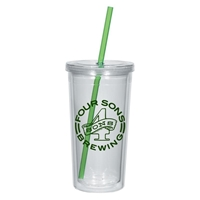 Customizable 24 oz. Acrylic Tumbler