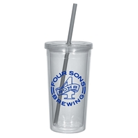 Promotional 24 oz. Double Wall Tumbler