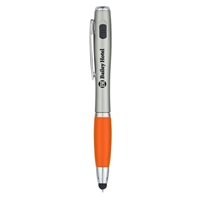 Picture of Trio Pen with LED Light and Stylus