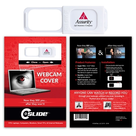 Promotional Sliding webcam Covers