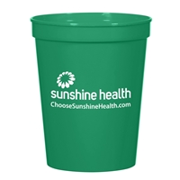 Green Personalized 16 oz. Stadium Cup