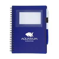 Picture of Spiral Notebook with ID Window