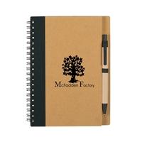 Branded Eco Spiral Notebook