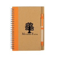 Customized Eco Notebook and Pen