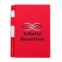 """Imprinted 4"""" x 6"""" Notebook With Pen"""