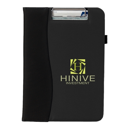Picture of Microfiber Clipboard with Embossed PVC Trim