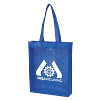 "Picture of Non-Woven Clear View Tote - 12"" W x 15"" H x 3"" D"