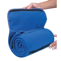 Imprinted Roll Up Blankets