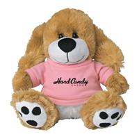 "Picture of Custom Printed 6"" Big Paw Dog Plush Animal"