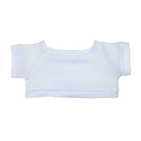 """6"""" Big Paw Panda Shirt- White"""