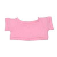 """6"""" Big Paw Panda Shirt- Pink"""