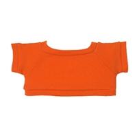 """6"""" Big Paw Panda Shirt- Orange"""