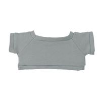 "6"" Big Paw Panda Shirt- Gray"