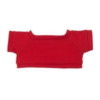 """6"""" Big Paw Panda Shirt- Red"""