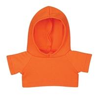 """6"""" Big Paw Panda Hoodie-Orange"""