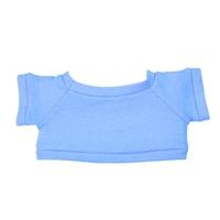 Custom Bear Shirt-Light Blue