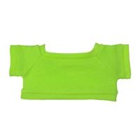 Custom Bear Shirt-Lime Green