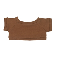 Custom Bear Shirt-Brown