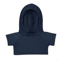 Custom Bear Hoodie-Navy