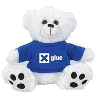 Custom Bear Hoodie-Blue