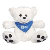 Custom Bear Bandana-Blue
