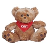 Custom Bear Bandana-Red